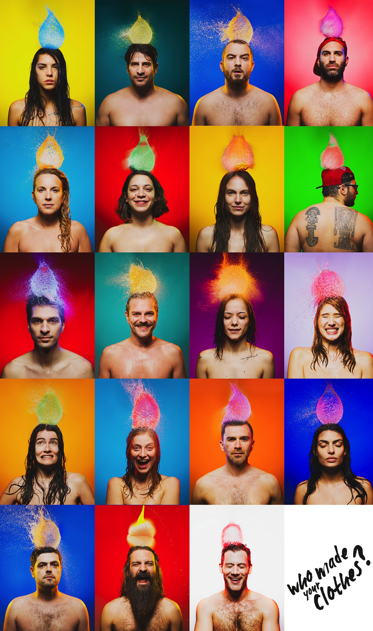 Transparency Portraits, Fashion Revolution